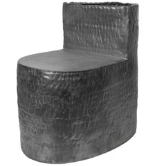 Jonathan Nesci w/ Robert Pulley Ceramic Chair with Black Coppered Glaze 18/19