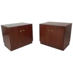 Pair of Midcentury Dunbar Style Nightstands