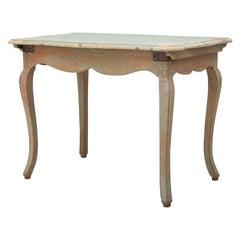 18th Century Swedish Baroque Table