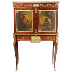 Late 19th Century Gilt Bronze-Mounted Vernis Martin Cabinet by Paul Sormani