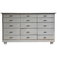 Painted Grey Chest of Drawers