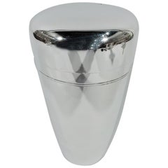 Tiffany Mid-Century Modern Sterling Silver Cocktail Shaker