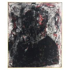 John O'Hara, Smoking Jacket, Encaustic on Board