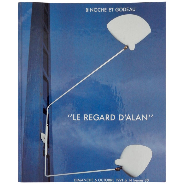 "Midcentury French Modernism Catalogue ""Le Regard d'Alan"" For Sale"