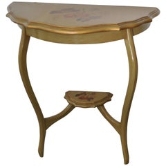 Charming Hand Painted Console