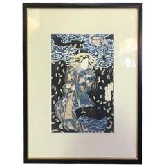 Kuniyoshi Utagawa Japanese Woodblock Print