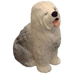 Old English Sheepdog Model by Beswick Pottery 'Fireside Model'