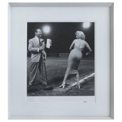 Marilyn Monroe Throws the First Pitch Photographed, Frank Worth 28/195 with Seal