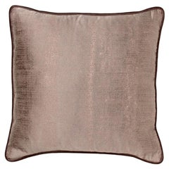 Brabbu Atlas Pillow in Brown Twill