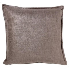 Brabbu Cambyses Pillow in Warm Taupe Twill