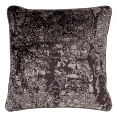 Brabbu Wallingford Eclectic Pillow in Black Twill