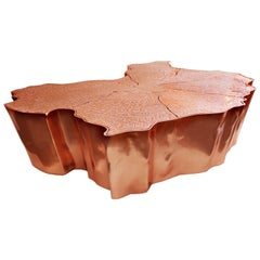 Eden Large Coffee and Cocktail Table with Copper Finish by Boca Do Lobo