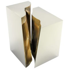 Lapiaz Side Table Lacquer Finish by Boca do Lobo