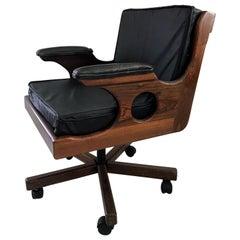 Desk Chair on Castor Don Shoemaker Mexican Modern