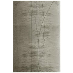 Brabbu Kalina Hand-Tufted Tencel Rug in Gray Gradient
