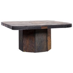 Designer Table Grey Slate Coffee Table