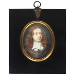 Portrait, Dated 1657, Signed by Samuel Cooper