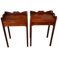 Pair of Mahogany Bedside Tables