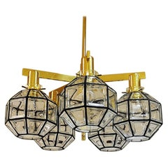 Pastoral Fivearmed Ceiling Lamp T348/5D from 1959 by Hans-Agne Jakobsson, Sweden