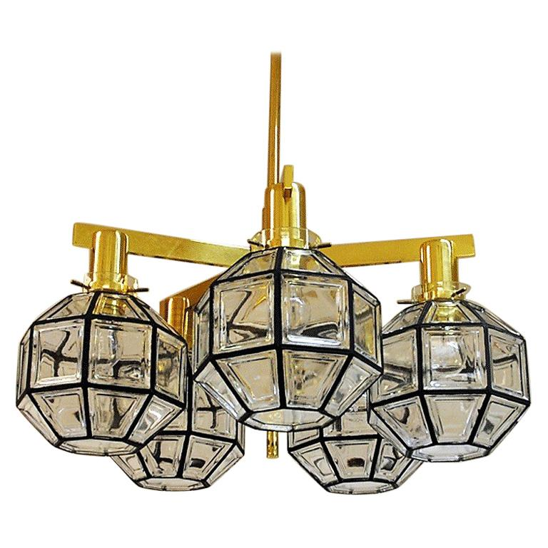 Pastoral Five-Armed Ceiling Lamp T348/5D from 1959 Hans-Agne Jakobsson, Sweden