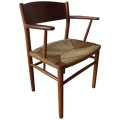 1950s Borge Mogensen Chair Model No 156