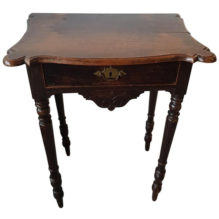Late 19th Century Pine Work Table
