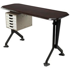 Mid-20th Century Italian Small Vintage Desk by Studio BBPR for Olivetti