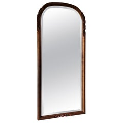 Early 20th Century Dutch Mirror with Carved Wooden Frame