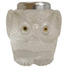 Rare Antique English Figural Match Strike, Owl, London, 1907