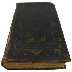 Early 18th Century the Book of Common Prayer Book English Hand Colored Plates