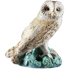 Cornish Art Pottery Barn Owl