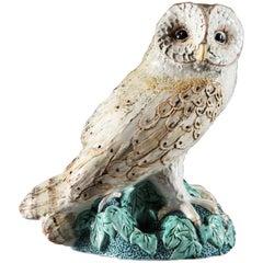 Cornish Art Pottery Barn Owl