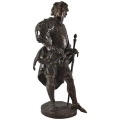 French Bronze Sculpture Albert Ernest Carrier Belleuse 1824-1887 Defreville