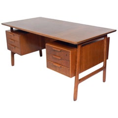 Danish Modern Desk Designed by Gunni Oman