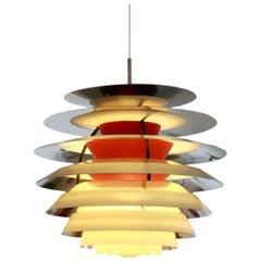 "PH Contrast Pendant by Poul Henningsen for Louis Poulsen, 1960s ""Kontrast Lamp"""