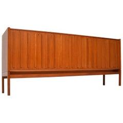 1960s Vintage Teak Sideboard by Arne Halvorsen for L. Jacobsen