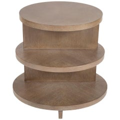 Contemporary Oval Tiered Table by Thomasville Collections