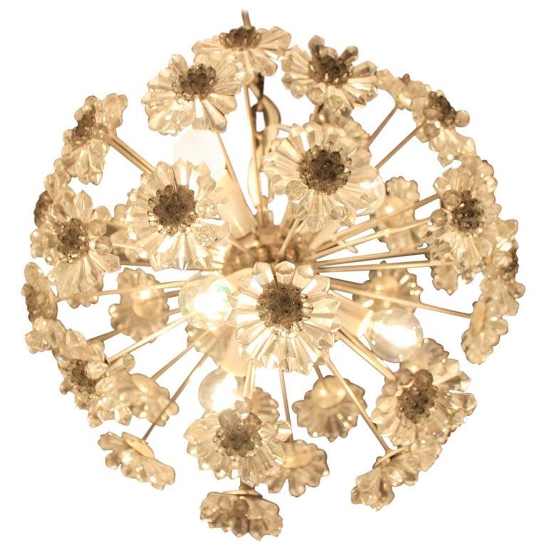 Midcentury Chandelier Dandelion, Sputnik