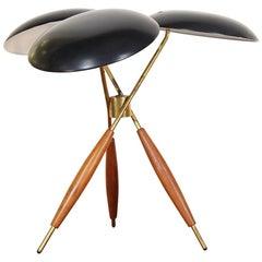 Gerald Thurston Tripod Table Lamp for Lightolier Co.