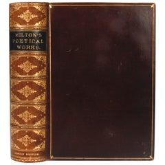 Poetical Works of John Milton, circa 1888