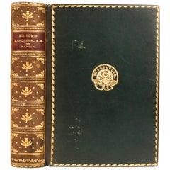 Sir Edwin Landseer R.a. by James a. Manson, 1st Edition, 1902