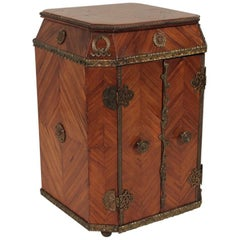 Diminutive French Jewelry Chest with Drawers