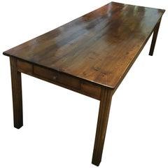 Farmhouse Table, Chestnut