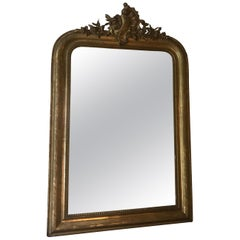 19th Century Gilt Louis Phillipe Mirror