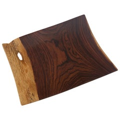 Artisan Cocobolo Wood Tray