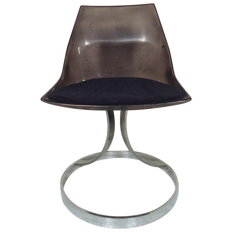 Vintage Modern Italian Lucite Chair