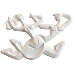 """Frederick Weinberg """"Swing Time"""" Lighted Wall Sculpture"""