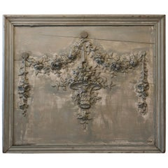 French Carved Wall Decor