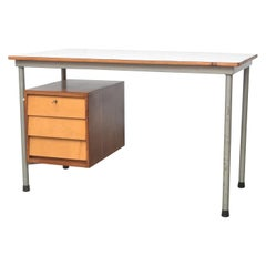 Modernist Dutch Industrial Desk