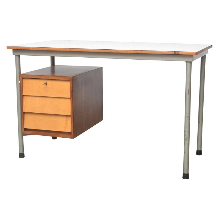 Modernist Dutch Industrial Desk